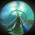Tunnel, 2016, oil on linen, 40 x 50 cm